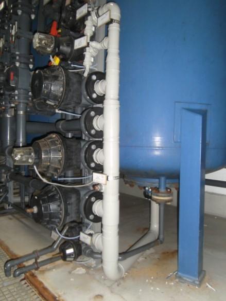 PP-Rohrleitung erneuert